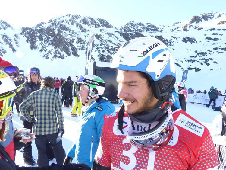 Snowboard Cross – Omar Visintin Champion 2014