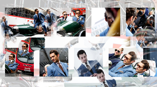 David Gandy - London  Collections Men 2013