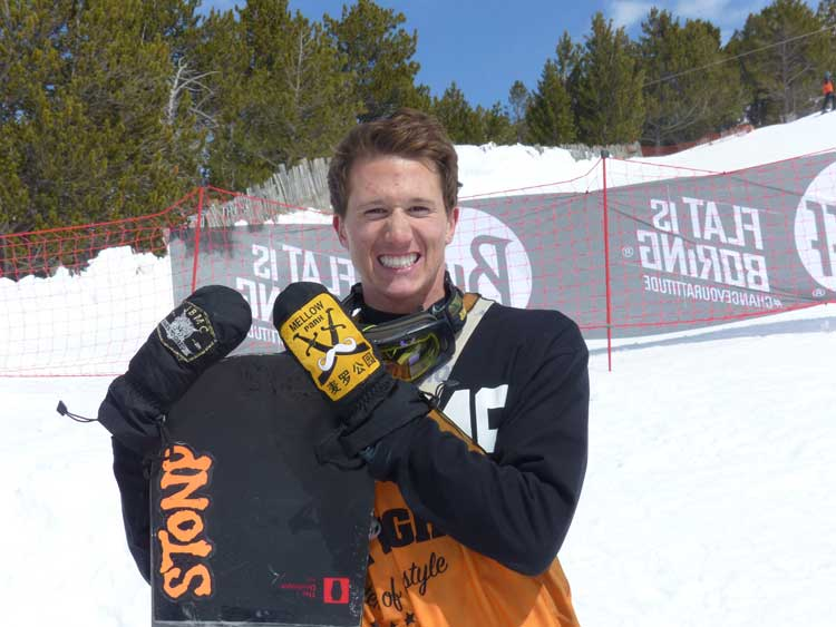 Sean Ryan - Total Fight 2014 Champion Slop Style snowboarder (2)