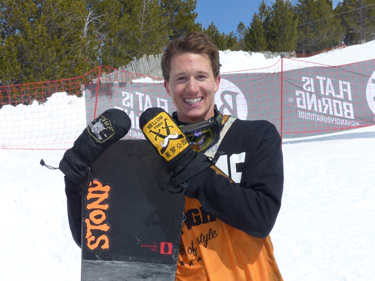 Sean Ryan - Total Fight 2014 Champion Slop Style snowboarder (3)