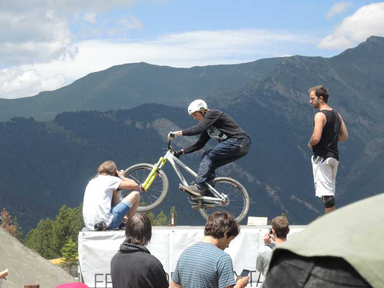 Mountain Biking - Valnored FISE World 2014 Andorra (2) Daryl Brown