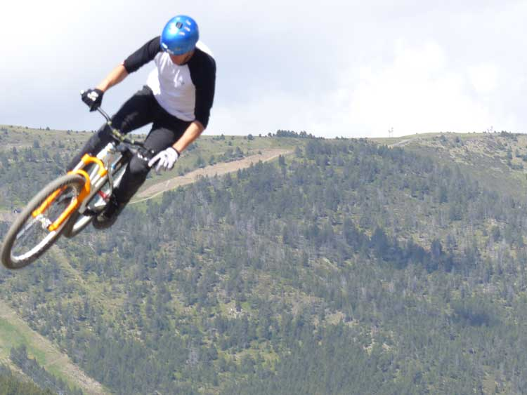 Slopestyle Mountain Biking - Can Wind Affect Your