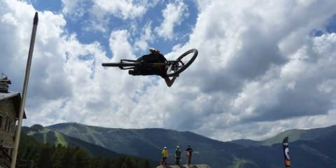 Slope style mountain biking andorra FISE 2014 Crashes (1)