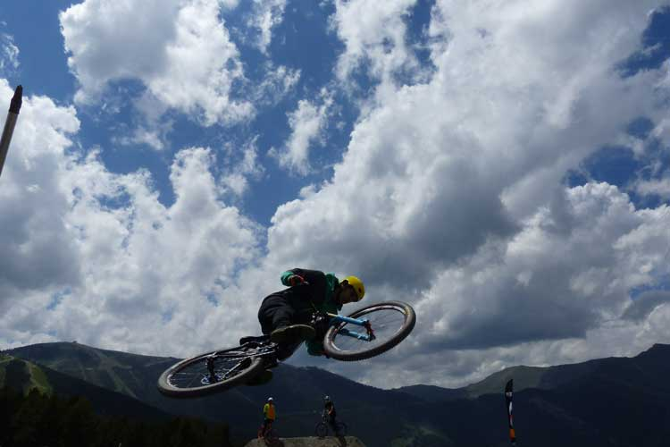 Slope style mountain biking andorra FISE 2014 Crashes (2)