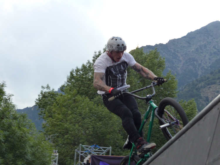Mark Webb – BMX Rider The Come Back 2014