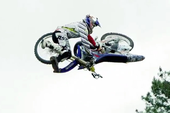 Tom Pages FMX Freestyle Motorcross – Bike Flip Training