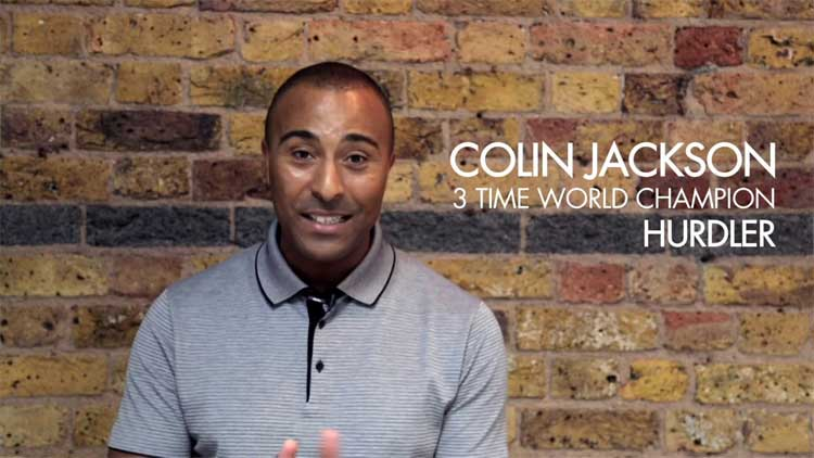Colin Jackson Interview for MOVEMBER & Maurice Lacroix