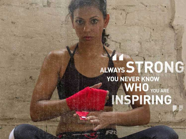 Ruqsana Begum - Muay Thai Boxing British Champion for women (3)
