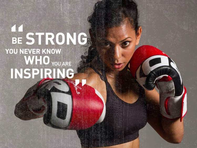 Ruqsana Begum - Muay Thai Boxing British Champion for women (4)