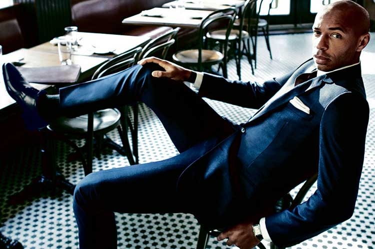 Thierry Henry – Football Fan Style Icon