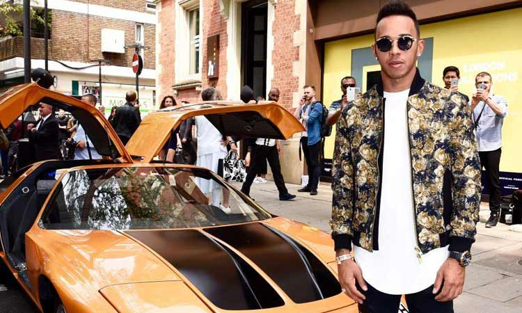 Lewis Hamilton – The Rise Of Sports Stars In Men's Fashion