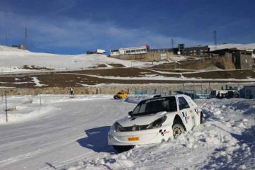 Andros Trophy - Rally  Cars Racing On Ice Andorra Gracie Opulanza 2016  (1)