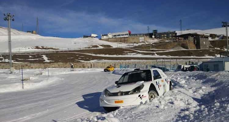 Andros Trophy – Rally Cars Racing On Ice
